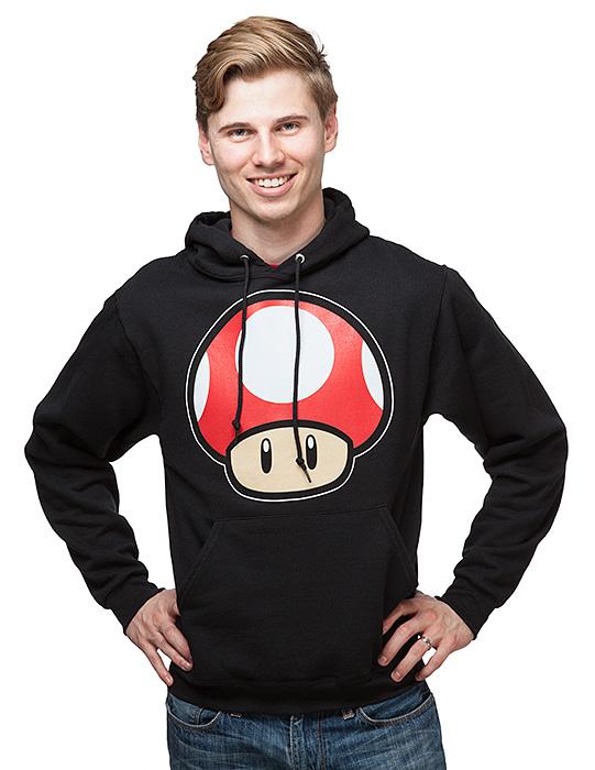 Mario Mushroom Hoodie