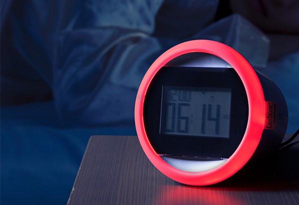 olfactory clock think geek
