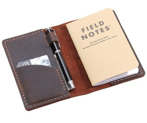 Leather Journal Cover for Field Notes