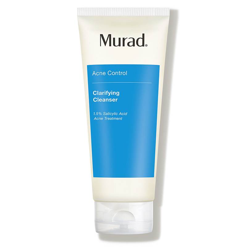 menthol beauty wellness products routine cooling pain relief murad clarifying cleanser