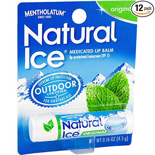 menthol beauty wellness products routine cooling pain relief mentholatum natural ice lip balm