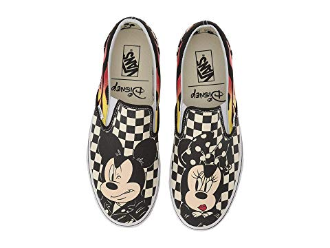 mickey mouse vans slip on shoes zappos