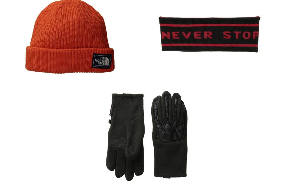 North Face Gloves, Hats, Beanies and