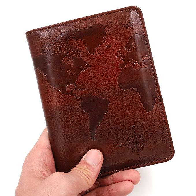 best passport holders under $15 Amazon Kandouren RFID Blocking