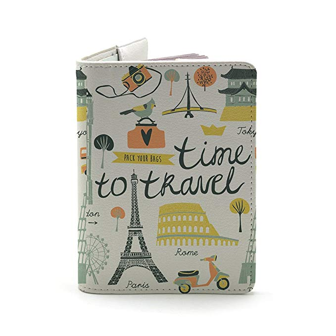 best passport holders under $15 Amazon handmaid curious Wanderlust Collection - Personalized Leather