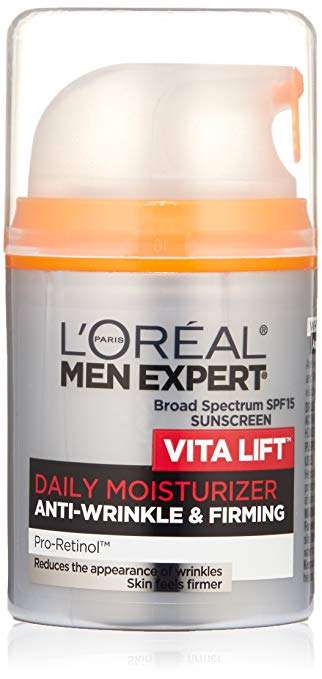 top beauty skin care products purchased spy readers 2018 l'oreal paris men expert vita lift daily moisturizer