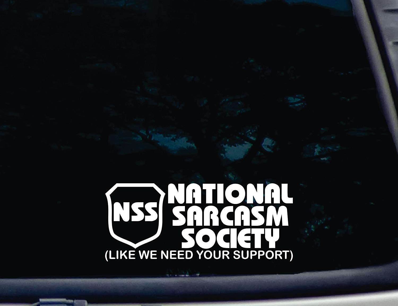 Sarcasm Society Sticker