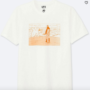 Naruto T-Shirt Uniqlo