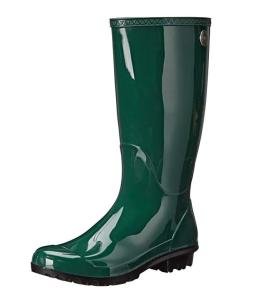 Green Rain Boots UGG