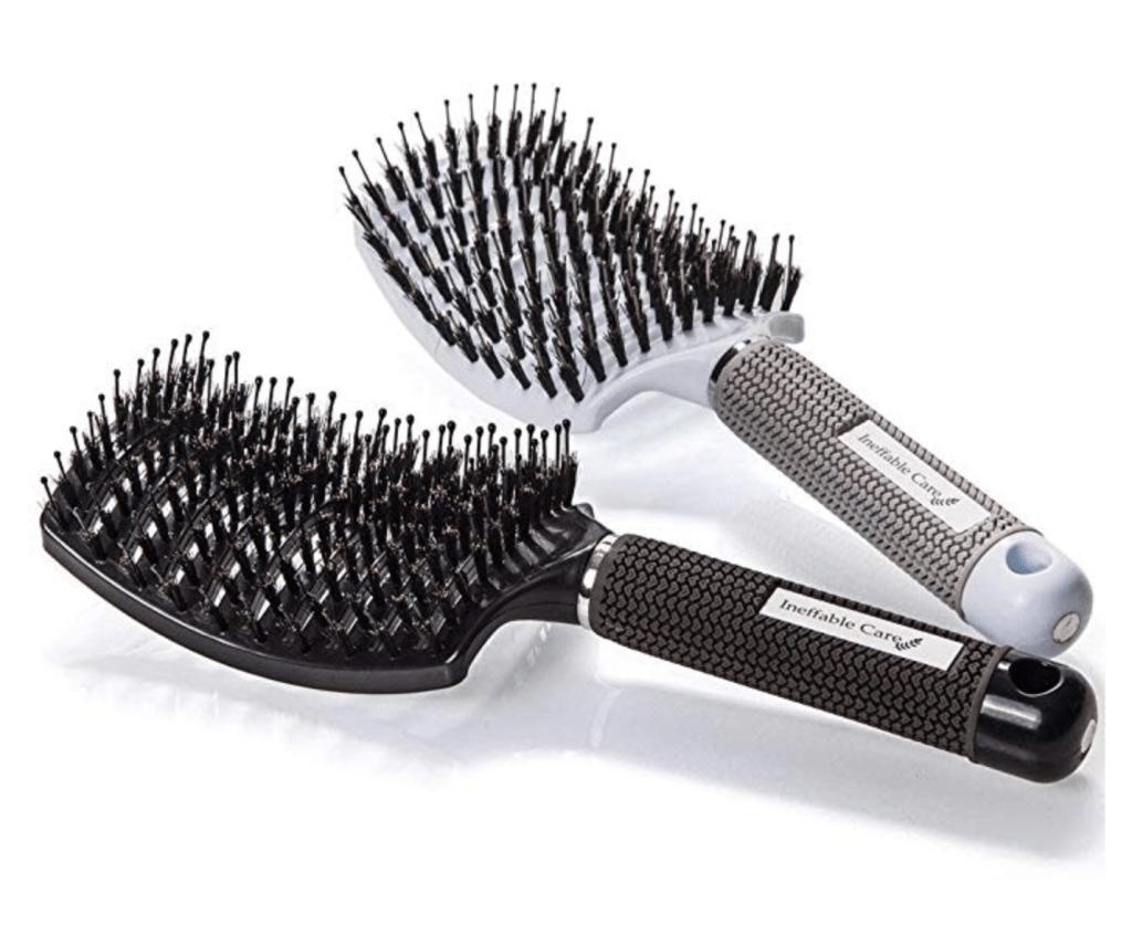 Curved Bristle Hair Brush