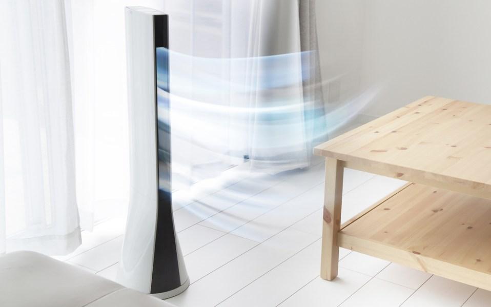mini cooling air freshener fan