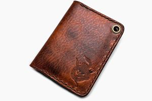 The Trucker's Hitch - Small Notebook Wallet