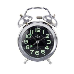 Twin Bell Retro Clock