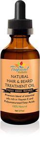 100% Natural Hair & Beard Growth Treatment Oil