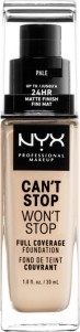 Foundation NYX Can't Stop Won't Stop