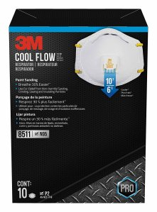 3M Particulate N95 Respirator with Valve