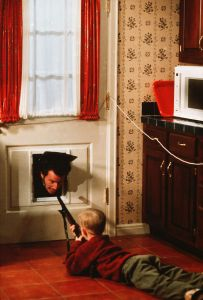 Home Alone Shotgun Dog Door