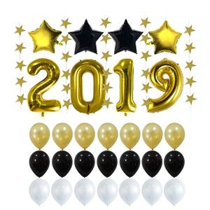 2019 New Years Eve Party Supplies Decorations Kit