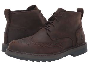Brown Wingtip Boots Timberland