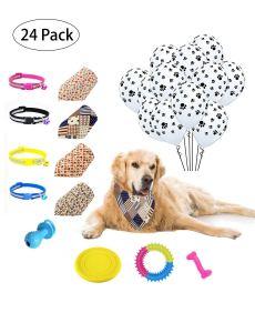 Sharlity Dog Birthday Party Supplies Kit