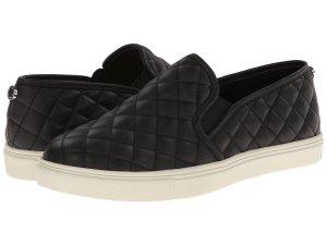Black Slip On Sneakers Women's