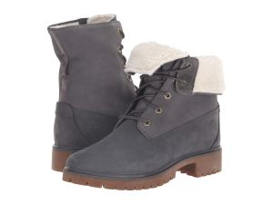 Grey Boots Women's Sherpa