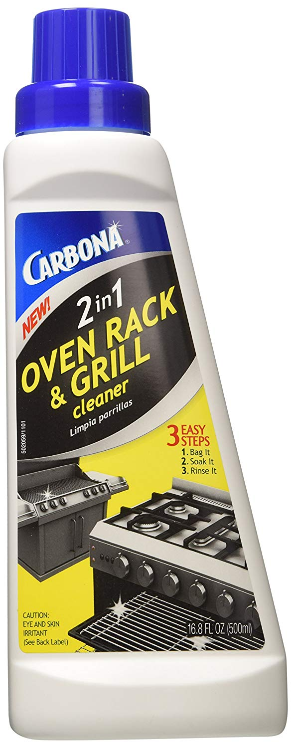 how to clean oven grill