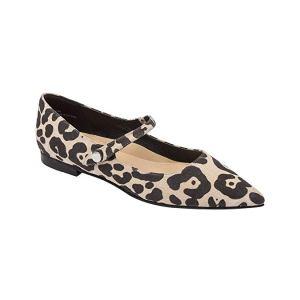 Pointy Toe Leopard Shoe Luci