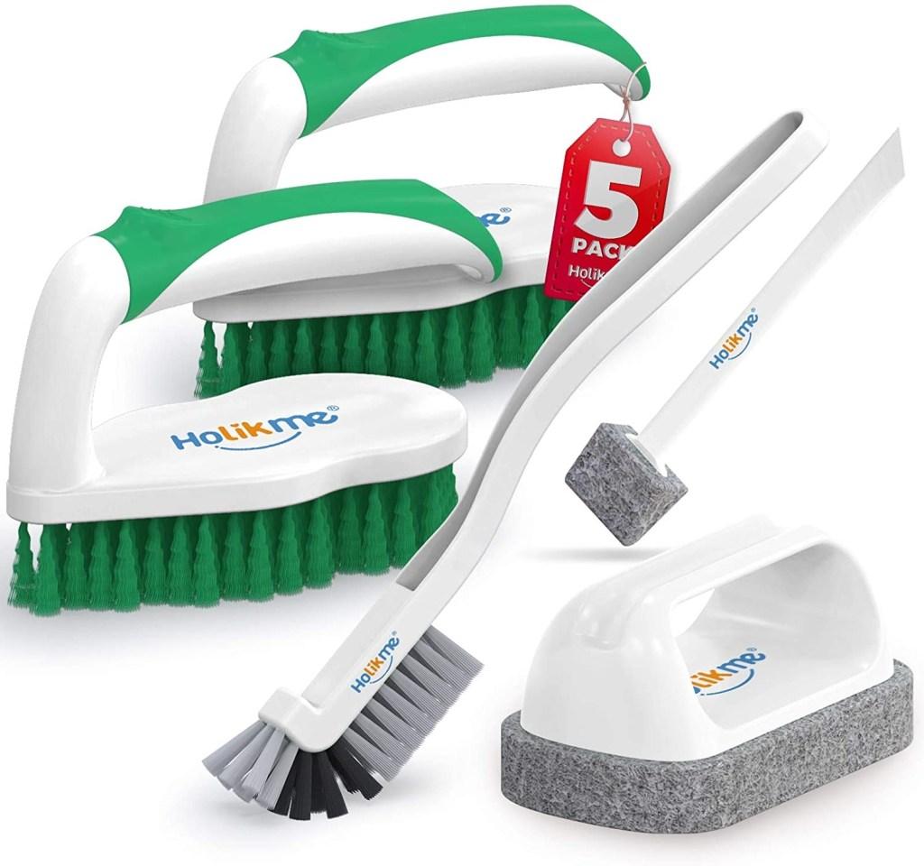 Holikme 5 Pack Deep Cleaning Brush Set