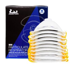 AMSTON N99 Disposable Dust Masks 10 pack