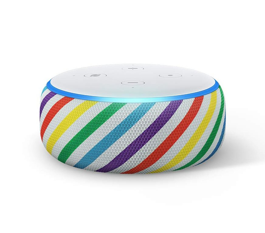 oprahs favorite things list 2019, amazon echo for kids, rainbow amazon echo