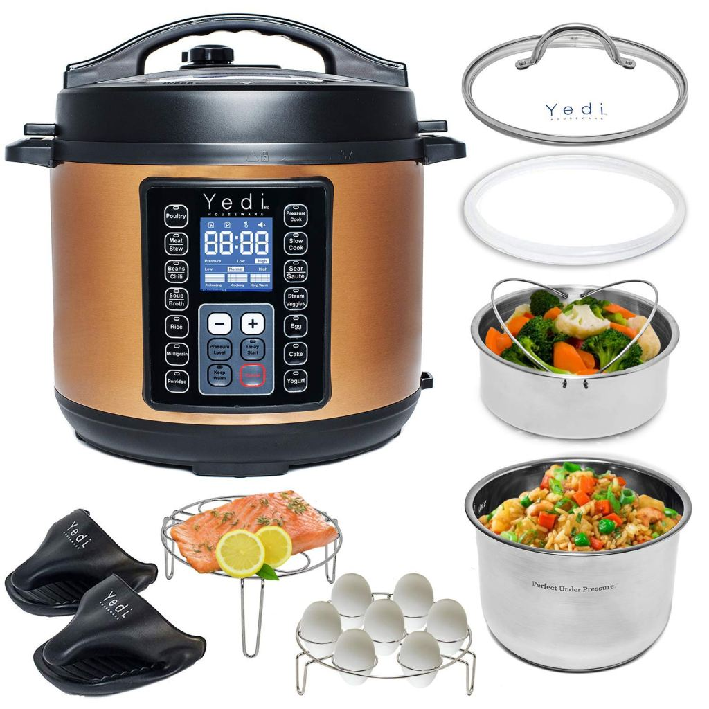 oprahs favorite things list 2019, metallic instant pot, yedi instant pot