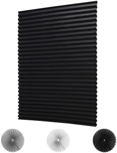 blackout pleated fabric, best blackout shades