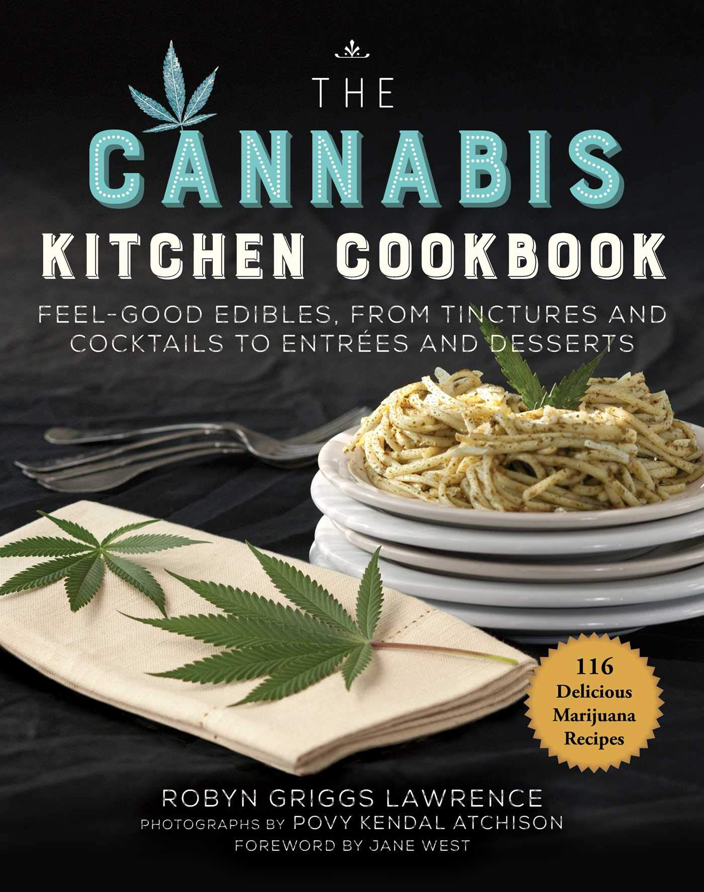 the cannabis kitchen cookbook cover