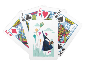 Magic in the Air Bicycle Playing Cards