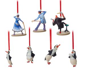 Mary Poppins Returns Ornament Set