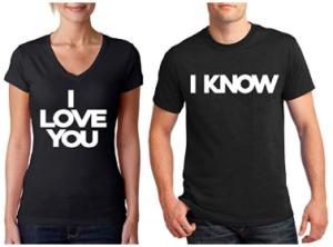 Awkwardstyles Matching Couple Shirts I Love You & I Know
