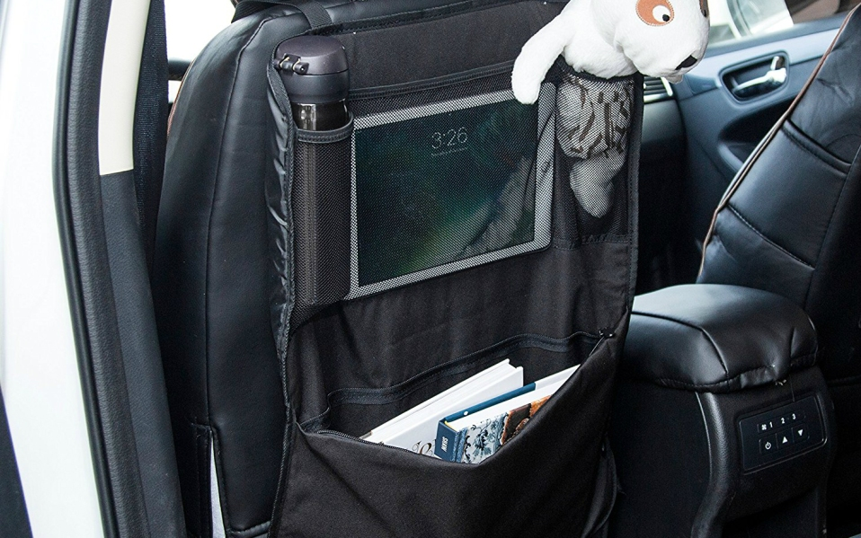 Best Car Seat Organizers: AmazonBasics Car