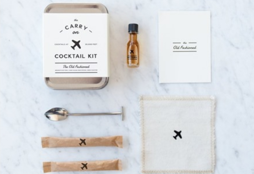 Carry-On Cocktail Kit: Mix Old Fashioned