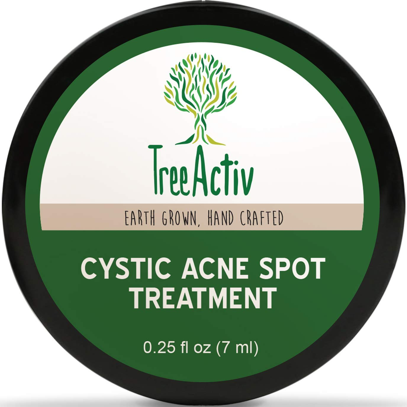 how to get rid of cystic acne best treatments treeactiv spot