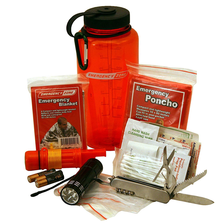 Emergency bottle kit