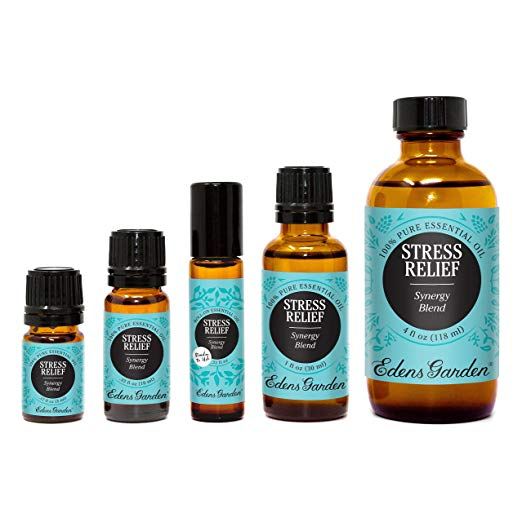 best essential oils increase love hormone oxytocin ylang ylang stress relief synergy blend roll-on edens garden
