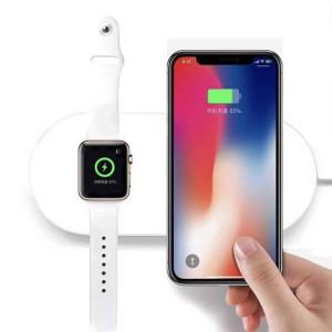 FACEVER 2 in 1 Qi Wireless Charging Pad