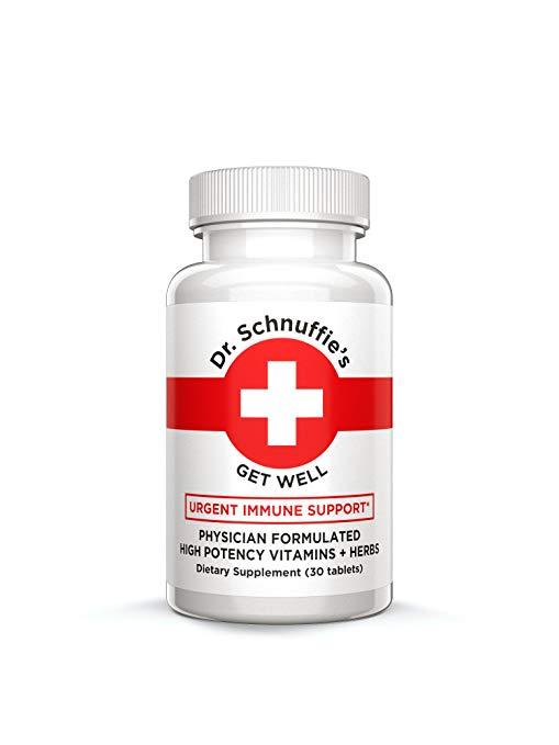 flu season essentials amazon 2018 stay healthy dr. schnuffie's medicine immune support boost