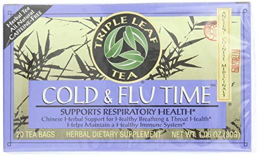 flu season essentials amazon 2018 stay healthy triple leaf tea cold and flu time