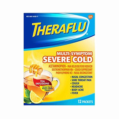 flu season essentials amazon 2018 stay healthy theraflu multi-symptom severe cold medicine