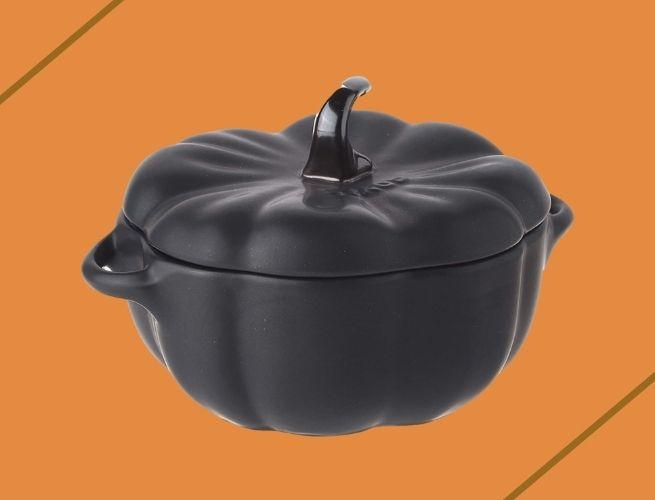 Thanksgiving decor pumpkin dish