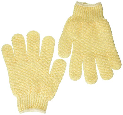 exfoliating gloves best scrubbing mitts smooth skin earth therapeutics natural hydro