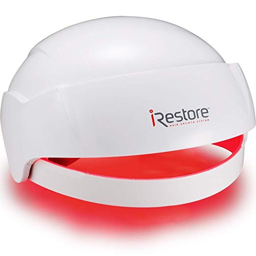 thinning hair stimulating scalp products hair loss iRestore Laser Hair Growth System