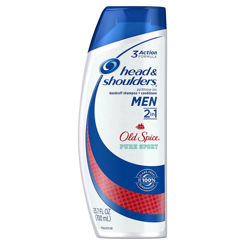 head and shoulders old spice 2 in 1 anti dandruff shampoo